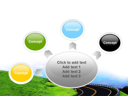 Mountain Highway PowerPoint Template Slide 7