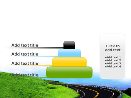 Mountain Highway PowerPoint Template Slide 8
