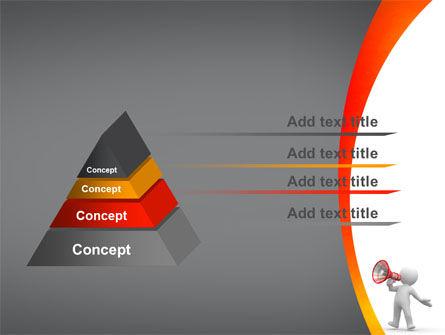 Public Speaker PowerPoint Template Slide 12