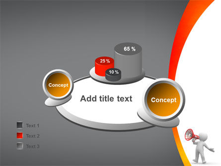 Public Speaker PowerPoint Template Slide 16