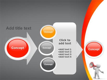 Public Speaker PowerPoint Template Slide 17