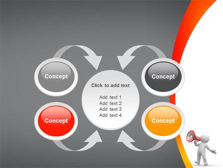Public Speaker PowerPoint Template Slide 6