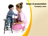 Medical: Paediatrics PowerPoint Template #06125