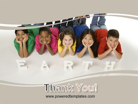 Children of Earth PowerPoint Template Slide 20