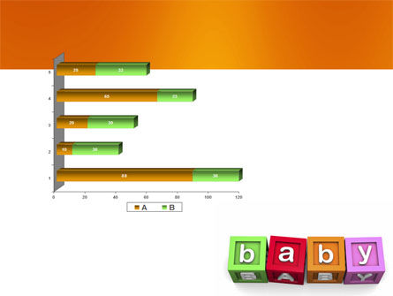 Baby Cubes PowerPoint Template Slide 11