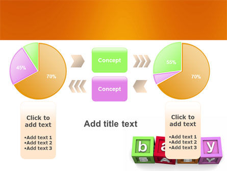 Baby Cubes PowerPoint Template Slide 16
