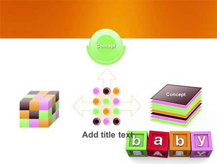 Baby Cubes PowerPoint Template Slide 19
