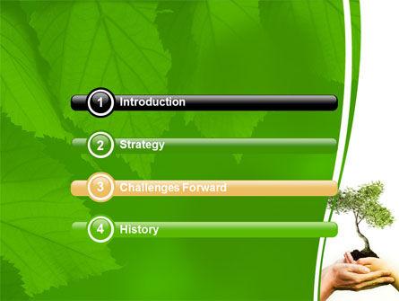 Growth PowerPoint Template, Slide 3, 06130, Nature & Environment — PoweredTemplate.com