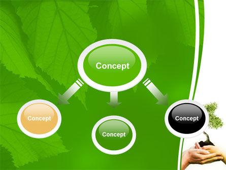 Growth PowerPoint Template, Slide 4, 06130, Nature & Environment — PoweredTemplate.com