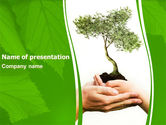Nature & Environment: Growth PowerPoint Template #06130