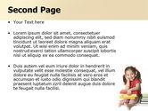 Little Reader PowerPoint Template#2