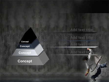Break Dance On The Street PowerPoint Template Slide 12