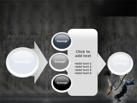 Break Dance On The Street PowerPoint Template Slide 17