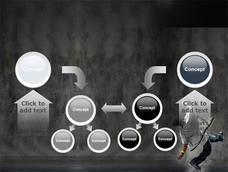 Break Dance On The Street PowerPoint Template Slide 19