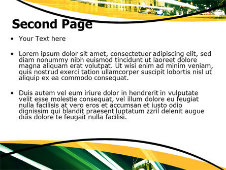 Big Ben PowerPoint Template, Slide 2, 06134, Flags/International — PoweredTemplate.com