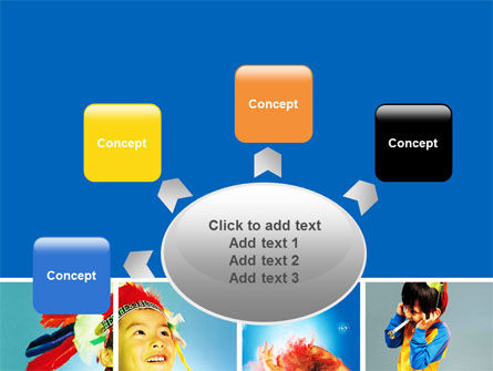 Kids Costumes PowerPoint Template Slide 7