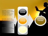 Sunset Reading PowerPoint Template#11