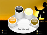 Sunset Reading PowerPoint Template#12