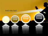 Sunset Reading PowerPoint Template#13