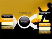 Sunset Reading PowerPoint Template#14