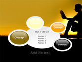 Sunset Reading PowerPoint Template#16
