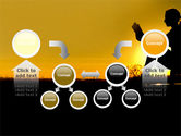 Sunset Reading PowerPoint Template#19