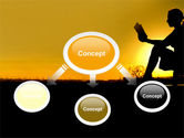 Sunset Reading PowerPoint Template#4