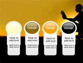 Sunset Reading PowerPoint Template#5