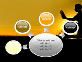 Sunset Reading PowerPoint Template#7