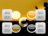 Sunset Reading PowerPoint Template#9