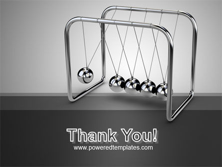 Newton's Cradle PowerPoint Template Slide 20
