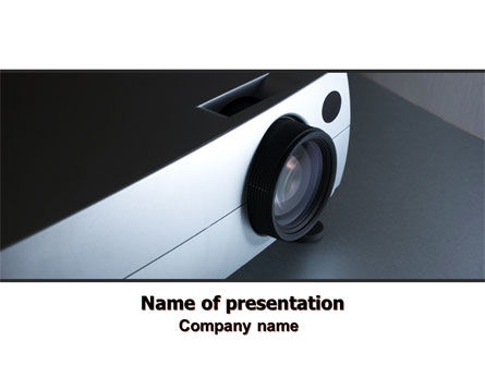 Video Projector PowerPoint Template