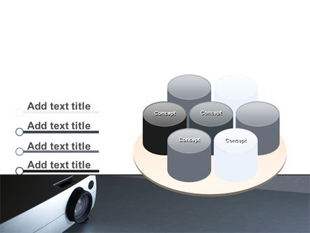 Video Projector PowerPoint Template Slide 12
