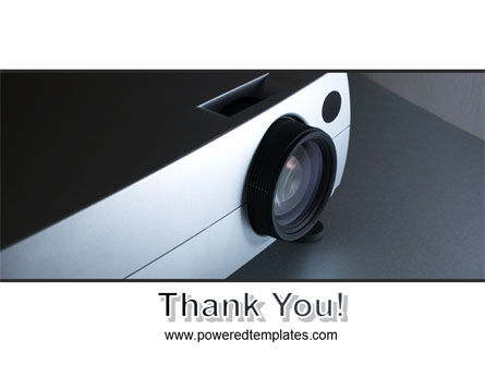 Video Projector PowerPoint Template Slide 20
