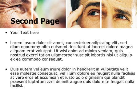 Eyes PowerPoint Template Slide 2