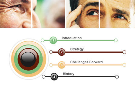 Eyes PowerPoint Template Slide 3