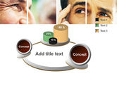 Eyes PowerPoint Template#6