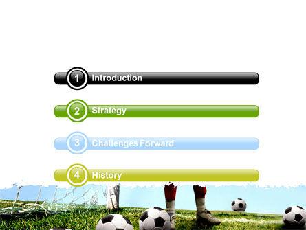 Soccer Training PowerPoint Template Slide 3