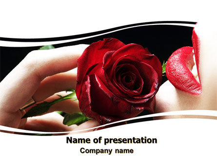 Holiday/Special Occasion: Modello PowerPoint - Red passion #06144