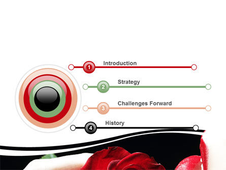 Red Passion PowerPoint Template, Slide 3, 06144, Holiday/Special Occasion — PoweredTemplate.com