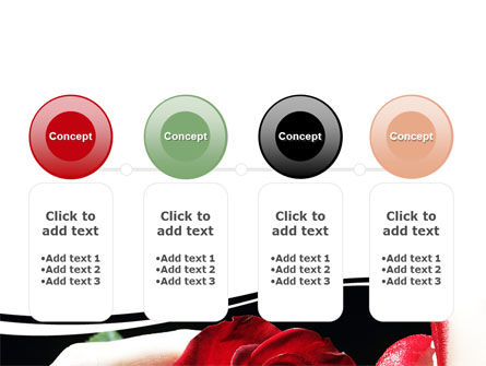 Red Passion PowerPoint Template Slide 5