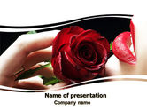 Holiday/Special Occasion: Red Passion PowerPoint Template #06144