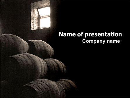 Wine Cellar PowerPoint Template