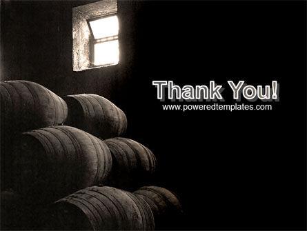 Wine Cellar PowerPoint Template Slide 20