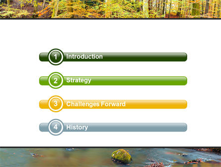 Autumn Scenery PowerPoint Template, Slide 3, 06147, Nature & Environment — PoweredTemplate.com