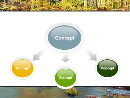 Autumn Scenery PowerPoint Template, Slide 4, 06147, Nature & Environment — PoweredTemplate.com