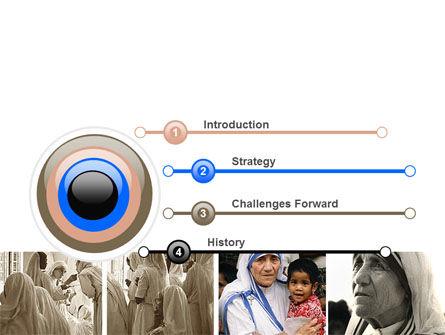 Mother Teresa PowerPoint Template Slide 3