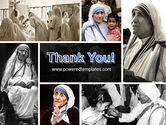 Mother Teresa PowerPoint Template#20