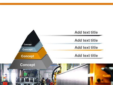 Automotive Assembly Line PowerPoint Template Slide 4