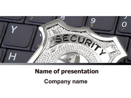 Web Security PowerPoint Template, 06153, Technology and Science — PoweredTemplate.com